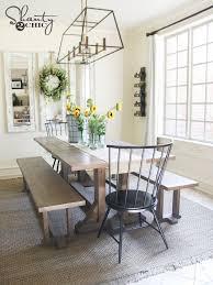 Old Farm Tables Farmhouse Dining Room Ideas Farmhouse Dining Room Design With A