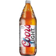 how many calories in a can of coors light coors light beer 40 fl oz bottle walmart com