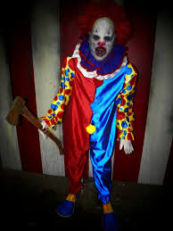 ax o the clown full sized haunted house prop halloween ideas