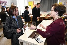 bureau de vote tours election présidentielle nancy ambiance électorale dans les