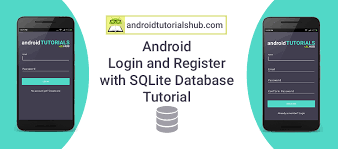 android database android login and register with sqlite database tutorial android