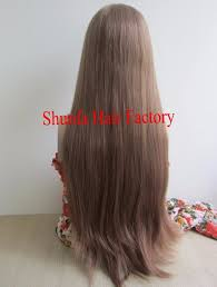 thin hair pull through wigltes hair integration wigs for women women balding pull through wigs