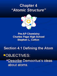 chapter 4 atomic structure atomic nucleus isotope