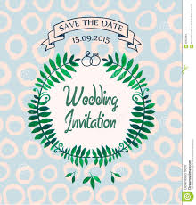wedding card design template free download vector wedding invitation card design template stock vector