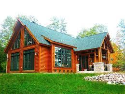 log cabin manufactured homes oregon cabins home floor plans