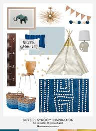 remodelaholic playful and blue boys playroom decor and inspiration