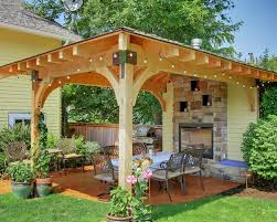 Free Standing Patio Cover Ideas Free Standing Covered Patio 81 Best Free Standing Patio Coverings