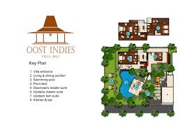 2 Wing Bedroom Villa Layout Villa Oost Indies U2013 Seminyak 3 Bedroom Luxury Villa