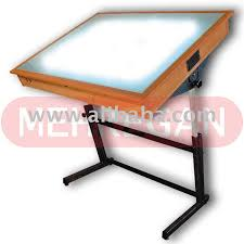 Drafting Table L Light Drafting Table Mehregan Engineering Trace Light Table L