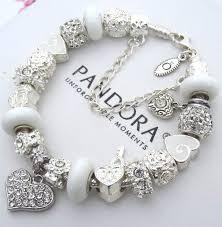 white charm bracelet images Stunning pandora charm bracelet contemporary jewelry collection jpg