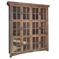 dining room wall units rustic carlisle wall cabinet home envy furnishings solid wood