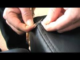 Upholstery Stitch Types Introduction To Hand Stitching Youtube