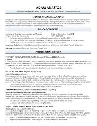 financial analyst resume exles 2 resume for recent college graduate template gfyork 18 popular