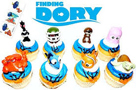 finding dory cake amazon com