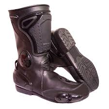 womens motorbike boots stealth ii motorcycle boot by bikers paradise
