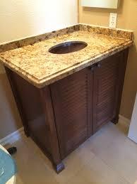 Bathroom Vanity With Copper Sink by August Oak Woodworks Temecula California Bathroom Vanities