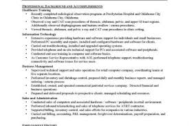 Sample Resume For Radiologic Technologist by Mammography Technologist Resume Reentrycorps