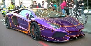 lamborghini aventador insurance a 450 000 purple lamborghini aventador could be destroyed
