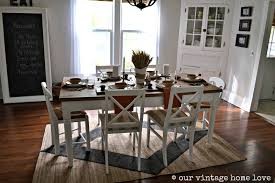 white wood dining room table 30 rugs that showcase their power under the dining table
