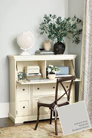 home office with ballard designs furnishings benjamin moore benjamin moores cement gray in ballard designs winter 2017 catalog ballard design desks