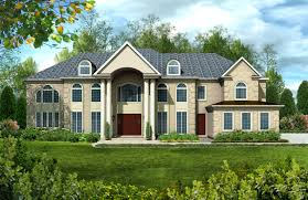 luxury series estate and larger custom home plans