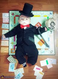 Monopoly Halloween Costumes Monopoly Man Rich Uncle Pennybags Costume Baby Costumes