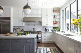 cuisine chaleureuse contemporaine maison de charme rustique et moderne à la fois à nashville vivons