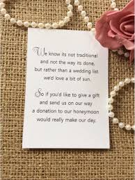 wedding gift of money 25 50 wedding gift money poem small cards asking for money