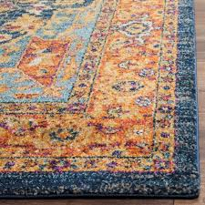 Rose Area Rug Blue And Orange Area Rugs Bungalow Rose Ameesha Blueorange Area