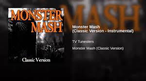 classic halloween background monster mash classic version instrumental youtube