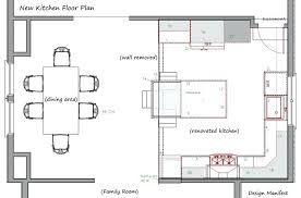 trend floor plan of a kitchen property wall ideas with design l