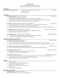 Waiter Job Resume by Cover Letter Mccombs Resume Format Mccombs Resume Format