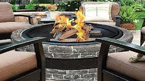 Gas Fire Pit Table Sets - keeping your gas fire pit safe and clean home air