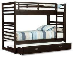 Chadwick TwinTwin Bunk Bed  Espresso The Brick - Twin bunk bed dimensions