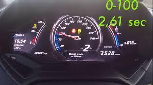 lamborghini huracan speedometer lamborghini huracan spyder crazy 0 100 2 6 sec launch control