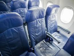 siege d avion intérieur des sièges de passager d avion image stock image du