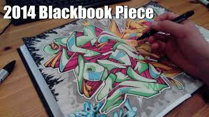 psym 2014 graffiti sketch blackbook piece hd 1080 youtube