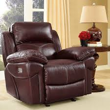 Swivel Club Chairs For Living Room by Warner Power Recliner With Power Headrest Bernie U0026 Phyl U0027s