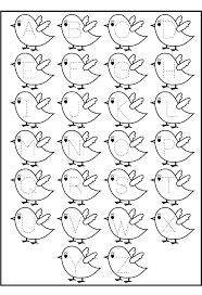 letter tracing birds printable worksheets for kids 2014 coloring