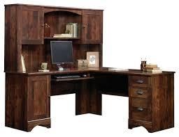 Computer Desk Cherry Wood Desk Belcourt Delmont Cherry Corner Computer Desk Sauder Camarin