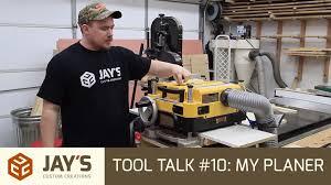 tool talk 10 my dw735 planer jays custom creations