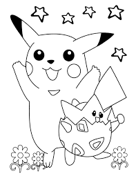 free pokemon coloring pages kids 2016