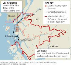 Pacific Northwest Map Pacific Northwest Lng Red Power Media