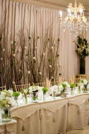 Wedding Head Table Decorations by Rustic Nature Stick Head Table Backdrop Wedding Pinterest