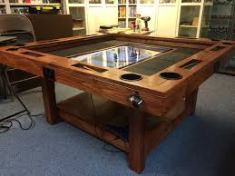 diy board game table how to build a high end gaming table for as little as 150 make
