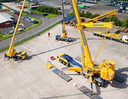 ainscough heavy crane hire news new heavy lifting fleet