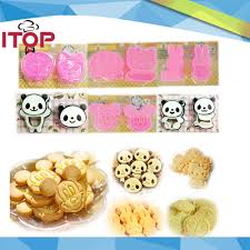 itop 5pcs lot adorable hello kitty 3d cookie cutter cute cookie