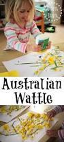 australian wattle craft for kids u2013 danya banya