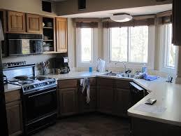 ideas how update oak wood oak kitchen cabinets with walnut finish