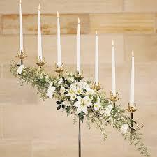 wedding candelabra flowers for wedding candelabras church decorations